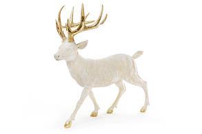 Декоративная фигура Олень 39см, цвет - золото BonaDi 823-207