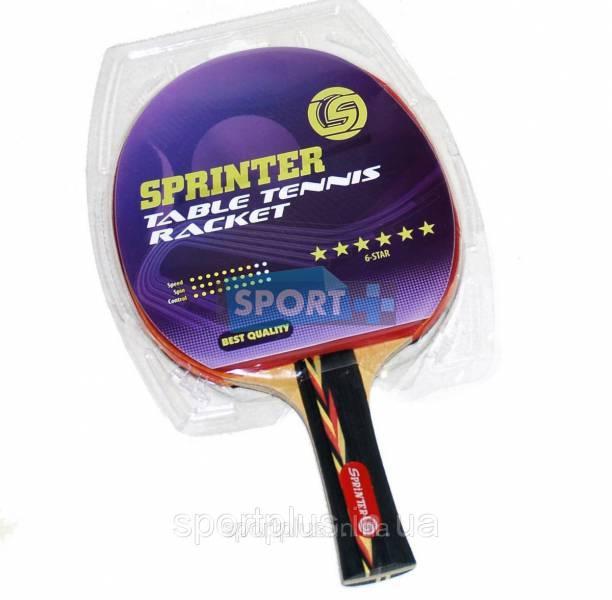 Ракетка для настольного тенниса Sprinter 6* S-603
