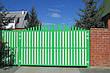 Алюмінієві розсувні ворота, фото 3