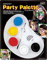 MEHRON Палитра грима на водной основе Fantasy FX Party Palette (5 цветов по 7 г), фото 1