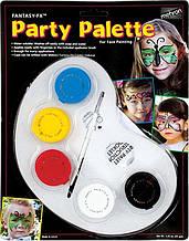 MEHRON Палитра грима на водной основе Fantasy FX Party Palette (5 цветов по 7 г)