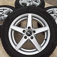 Диски VW R16 5x112 7j e35 Passat B6 B7 Jetta Audi A4 A6 Skoda титаны