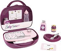 Валіза з аксесуарами для догляду за лялькою Baby Nurse Smoby 220341