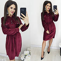 Женское платье-рубашка новинка 2019