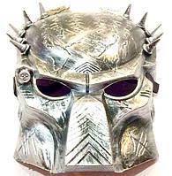 Маска Хищник серебро