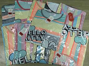 Ночная рубашка для женщин большого размера, шикарные ночнушка 50-56, фото 2