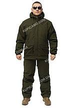 """Демісезонний костюм для рибалок і мисливців """"HANTER"""" Олива-Хакі"""