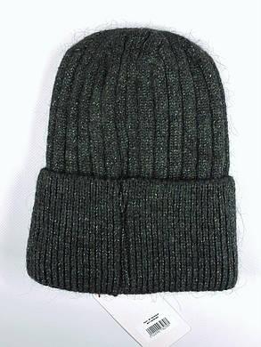 Женская шапка Flirt Сонг One Size зеленая, фото 2