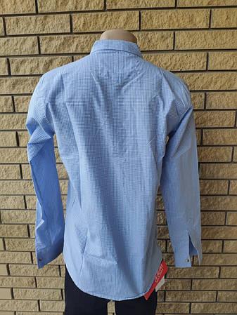 Рубашка мужская коттоновая  брендовая высокого качества  GOOA CLUB, Турция, фото 2