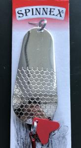 Блешня Spinnex Pike3 20g silver, фото 2