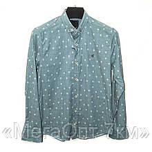 Рубашки мужские (р.р. S-2XL норма) Турция, от 5 штук