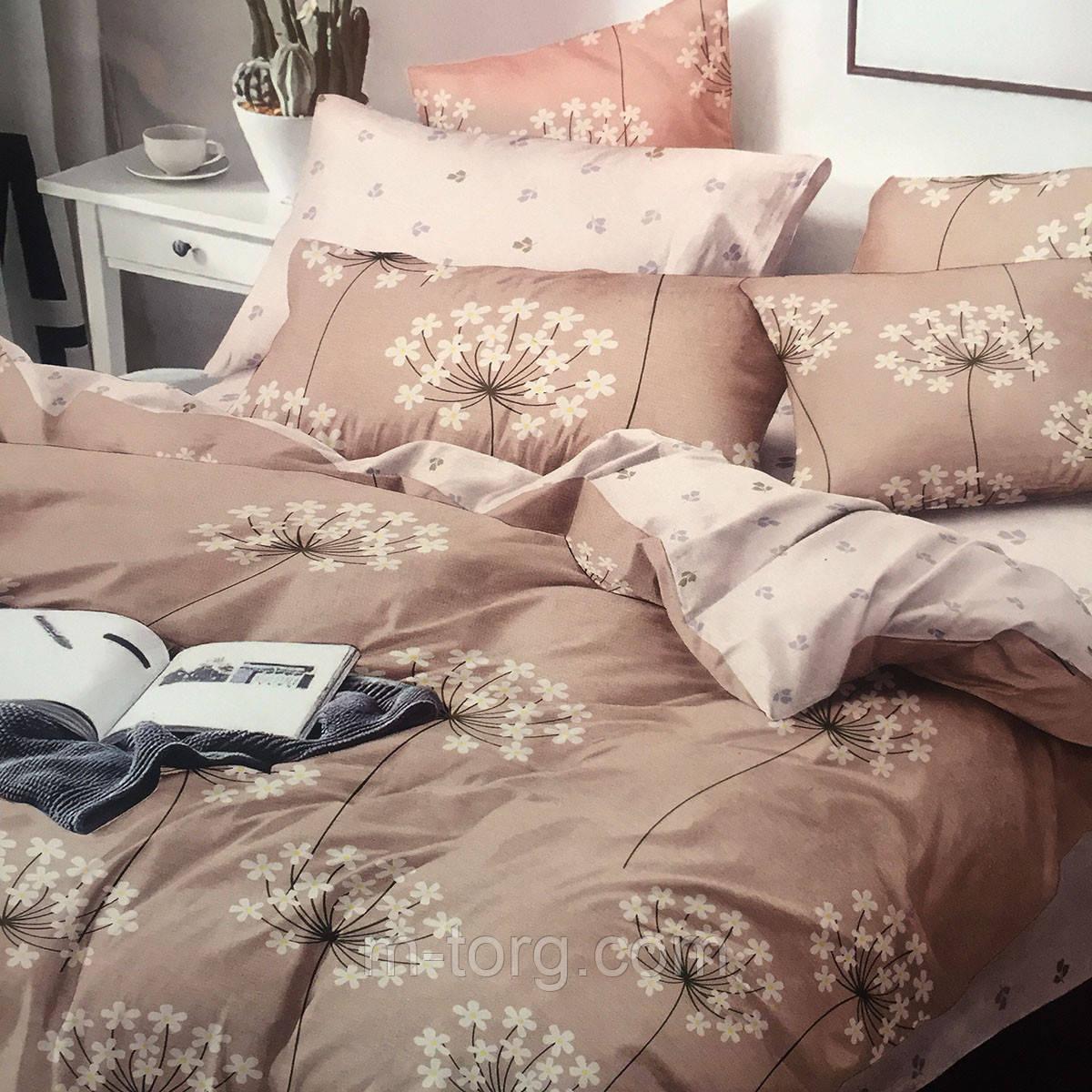 Комплект постельного белья евро размер 200/220,простынь 220/240,нав-ки 70/70,ткань поплин 100% хлопок