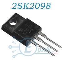 2SK2098, MOSFET транзистор N канал, 150В, 20А, TO220F