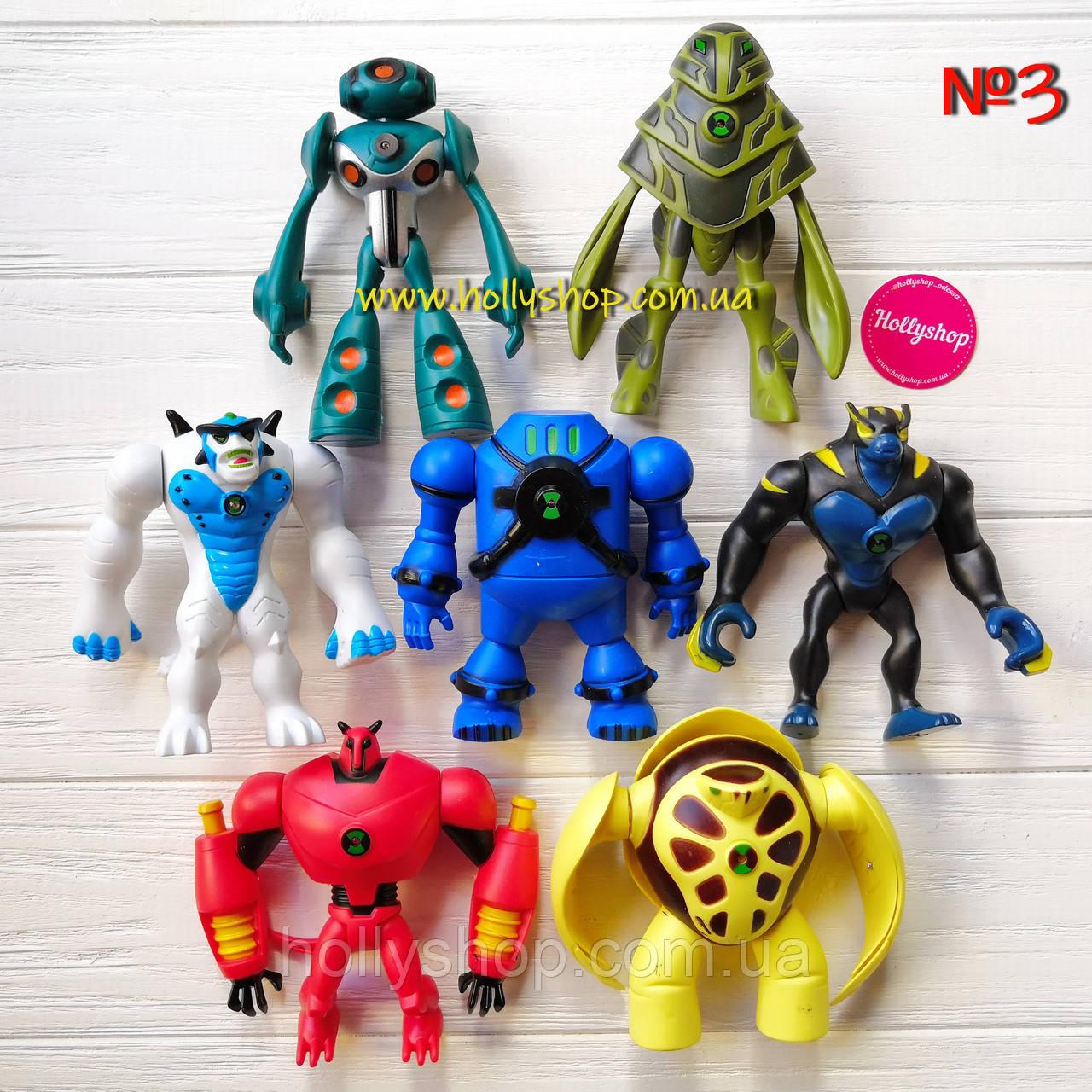 Игровой набор фигурок героев Ben 10 10-14 см + Свет №3