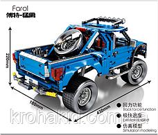 "Конструктор Sembo 701970 ""Пикап F-150 Raptor"" (аналог Lego Technic), 1288 дет., фото 3"