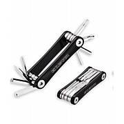 Набор ключей для велосипеда мультитул  Exustar T11+ 8 функций, компактный, черный