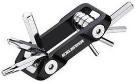Набор ключей для велосипеда мультитул  Exustar T18+ 7 функций, компактный