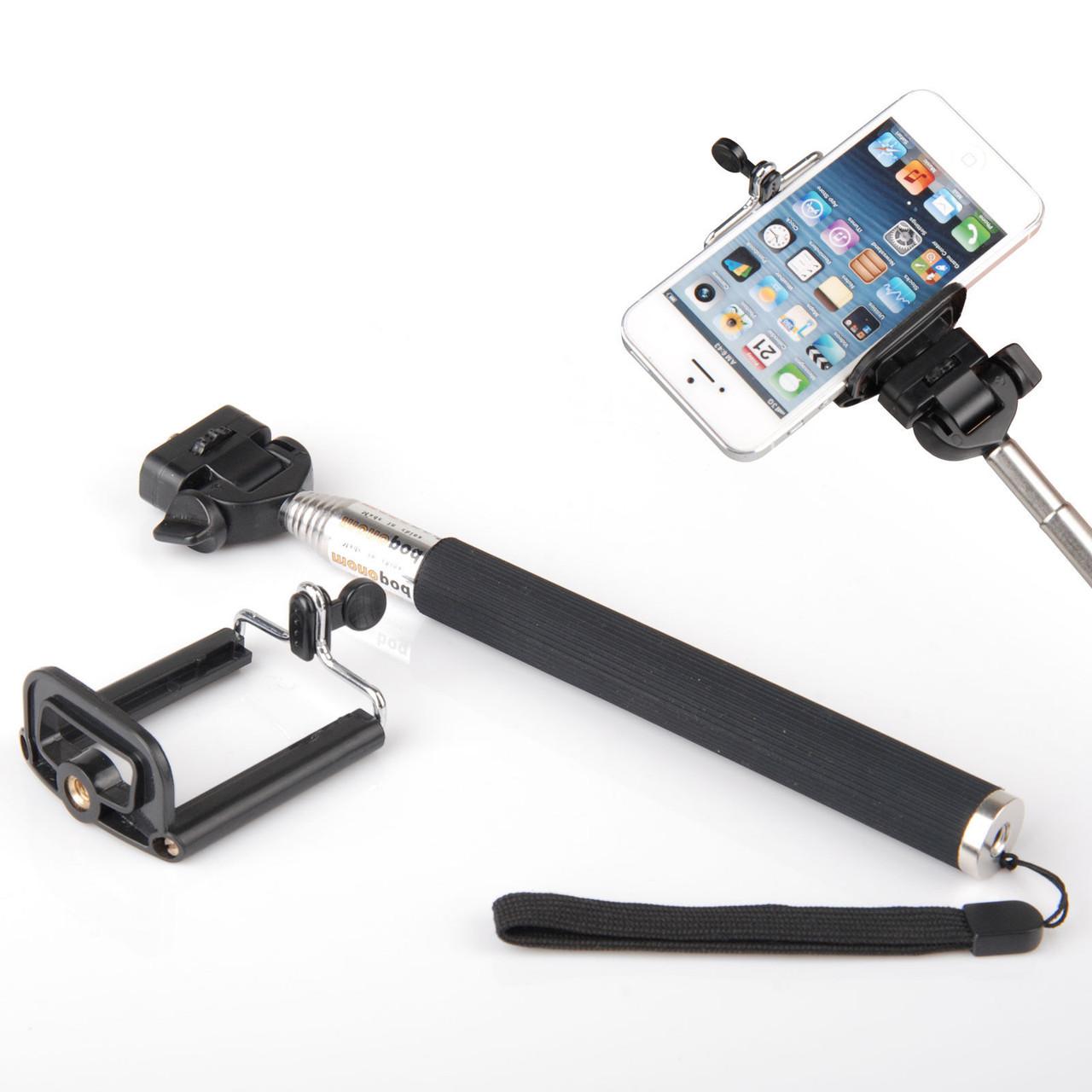Монопод для селфи (смартфон крепление + Bluetooth пульт) Z07-1 (3in1)