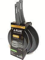 Набор сковородок A-Plus 3 в 1 20, 24, 28 см FP-1741