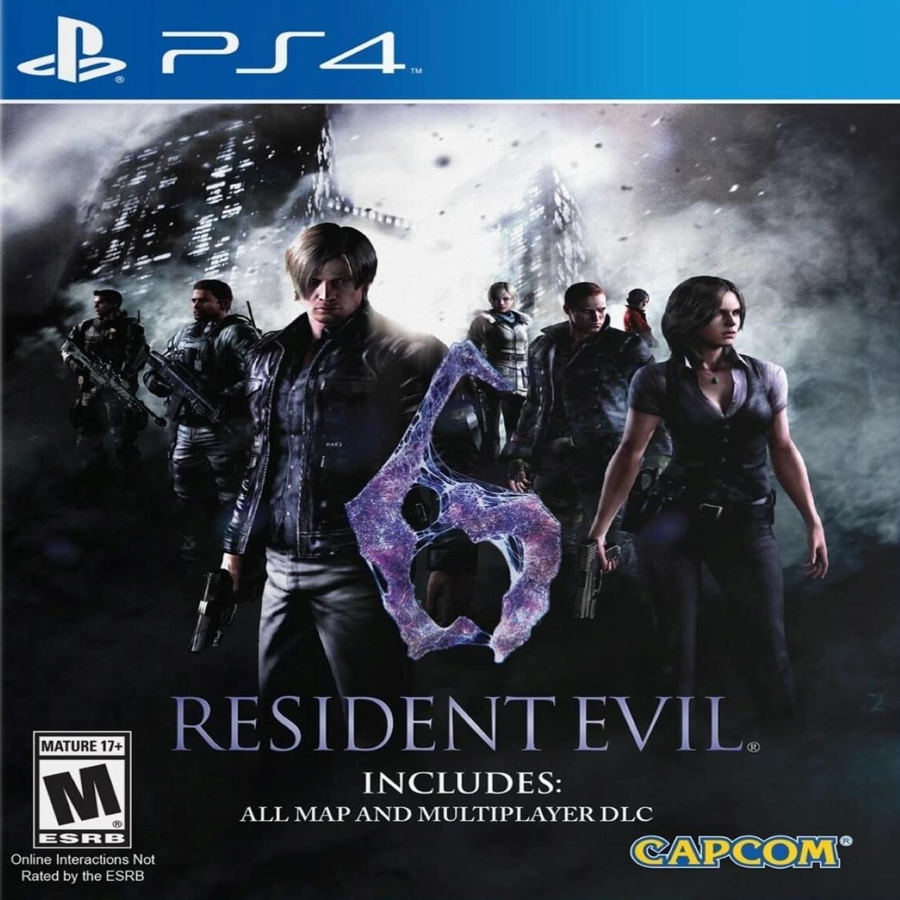 Resident Evil 6 (англійська версія) PS4