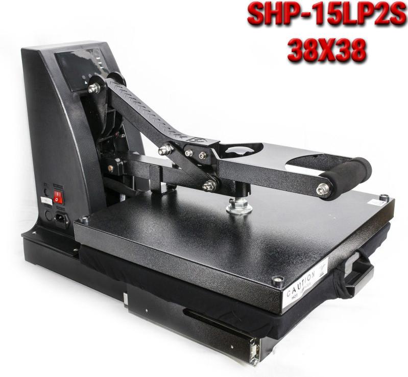 Термопресс планшетный 38x38 SHP-15LP2S с выдвижной плитой