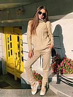 """Стильный молодежный женский вязаный костюм """"Марс"""", фото 1"""