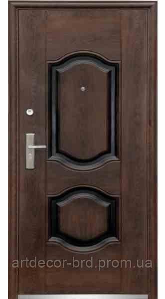 Ст. 61 Дверь бархатный лак (улица) (минвата пер) (70mm) (860) L