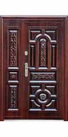 С+ 150+ Дверь медь антик (минвата) (70mm) (1200) L + РУЧКА