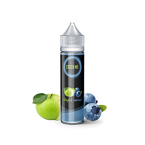 Жидкость для электронных сигарет CATCH ME Яблоко и Черника 60 мл 0 мг