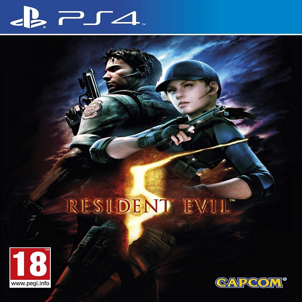 Resident Evil 5 ENG PS4 (NEW)