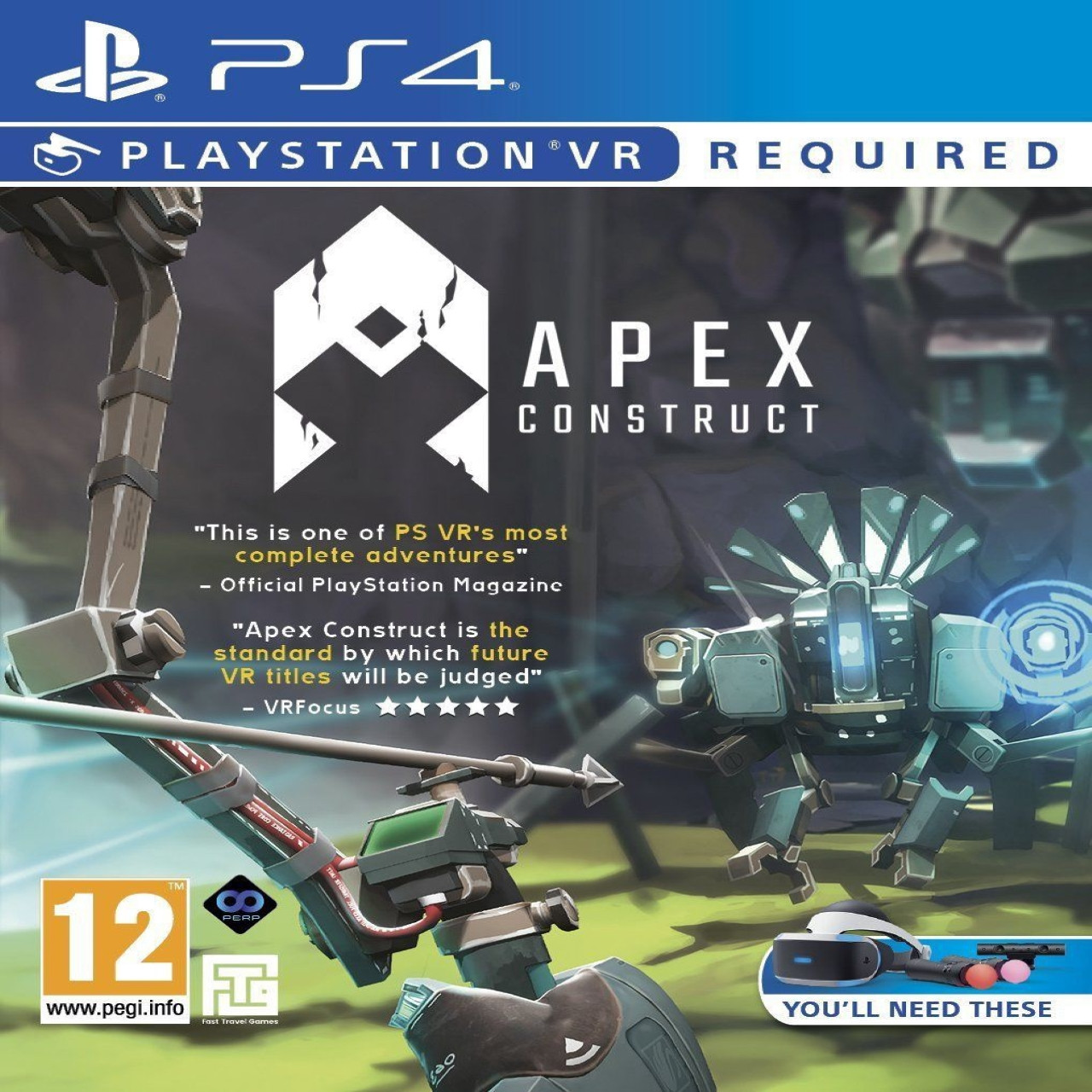 Apex Construct VR PS4 ENG (NEW)