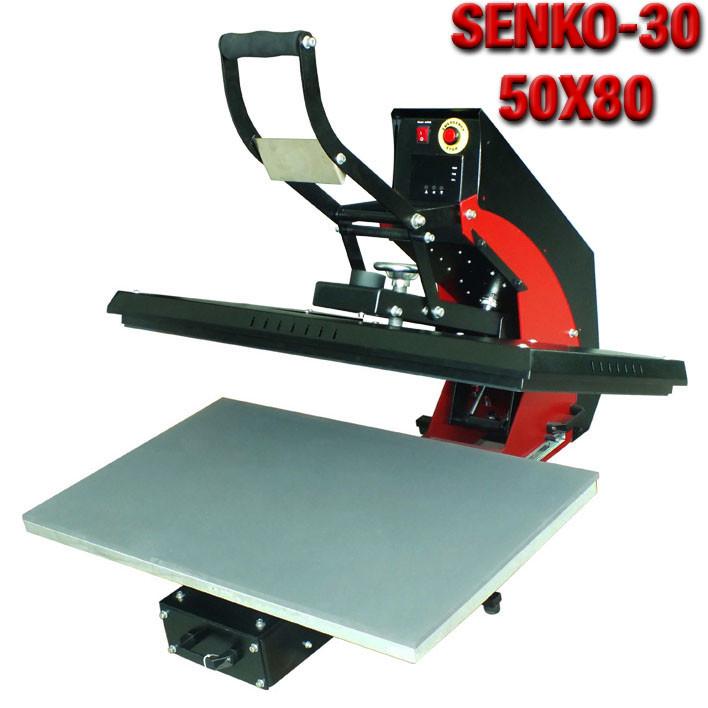 Термопресс планшетный SENKO-30 50x80 самооткрывающийся