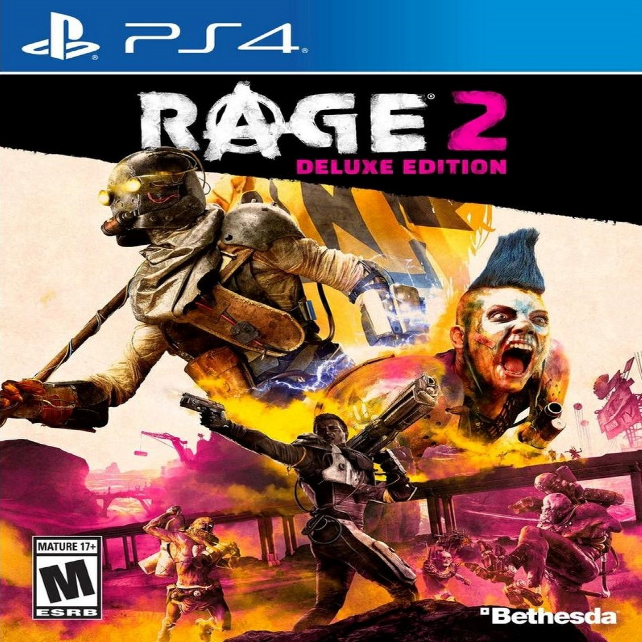 Rage 2 Deluxe Edition RUS PS4 (NEW)