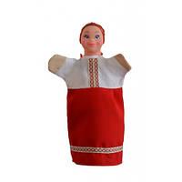 """Лялька-рукавиця """"УКРАЇНКА"""" (ПВХ, тканина)"""