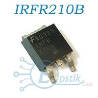 IRFR210B, Mosfet транзистор N канал, 200В, 2.7А, TO252