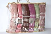Банные махровые полотенца 6 шт.