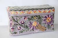 Махровые кухонные полотенца розочки 12 шт.