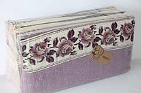 Полотенца махровые кухонные 12 шт., цветы