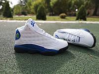Кросівки Nike Air Jordan 13 Retro White Blue, 414571-117