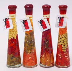 Декоративная бутылка с овощами, 24см, 4 вида BonaDi 131-031