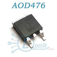 AOD476, (D476), MOSFET Транзистор, N-канал, 20В 25А, TO252