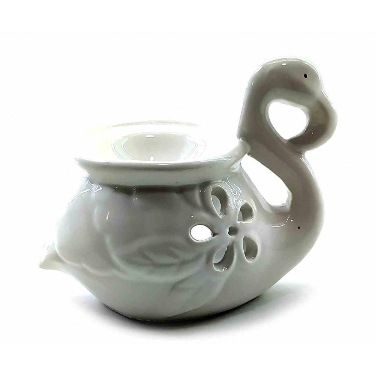 Аромалампа керамическая водная Фламинго