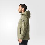 Чоловіча куртка Adidas ZNE Down Jacket BQ6799 кольору хакі, фото 2