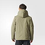 Чоловіча куртка Adidas ZNE Down Jacket BQ6799 кольору хакі, фото 3