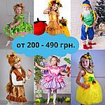 Карнавальні костюми від 200-490 грн.