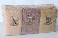 Махровые кухонные полотенца 10 шт.