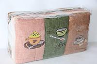 Полотенечка кухонные махровые упаковка 10 шт.