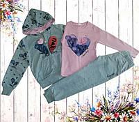 Детский спортивный костюм 3-ка для девочки