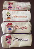 Пеналы школьные детские с вышивкой подарок учителю, фото 4