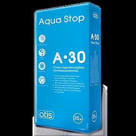Гидроизоляция Atis A-30 Aqua Stop, 25кг